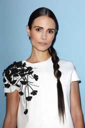 Jordana Brewster at Carolina Herrera Fashion Show - MBFW Fall 2015 in New York