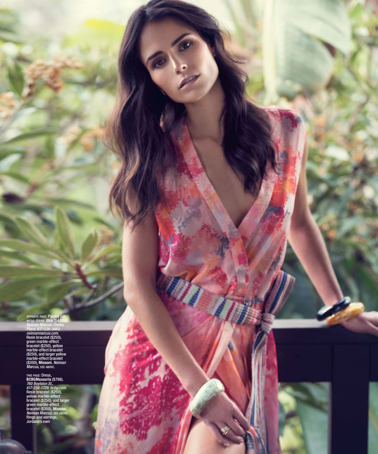 Jordana Brewster – Boston Common Magazine Spring 2015 Issue