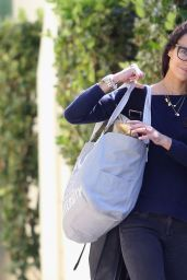 Jordana Brewster - Out in Los Angeles, Feb. 2015