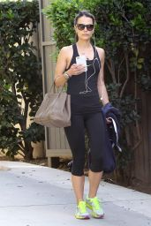 Jordana Brewster - Out in West Hollywood, February 2015