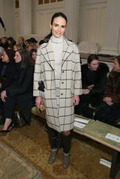 Jordana Brewster - Tory Burch Fashion Show in NYC, Feb. 2015