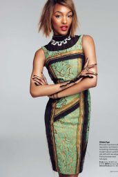 Jourdan Dunn - Glamour Magazine (US) March 2015 Issue