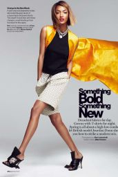 Jourdan Dunn - Glamour Magazine (US) March 2015 Issue
