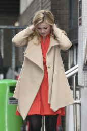 Julia Stiles - Outside ITV Studios in London, February 2015