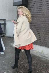 Julia Stiles - Outside ITV Studios in London, February 2015