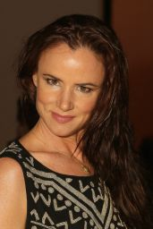 Juliette Lewis - Mara Hoffman Fashion Show in New York City, Feb. 2015