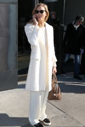 Karlie Kloss Fashion - Out in New York City, February 2015