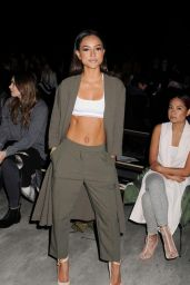 Karrueche Tran – Etxeberria Fashion Show in New York City, February 2015