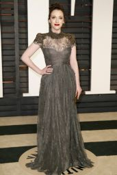 Kat Dennings - 2015 Vanity Fair Oscar Party in Hollywood