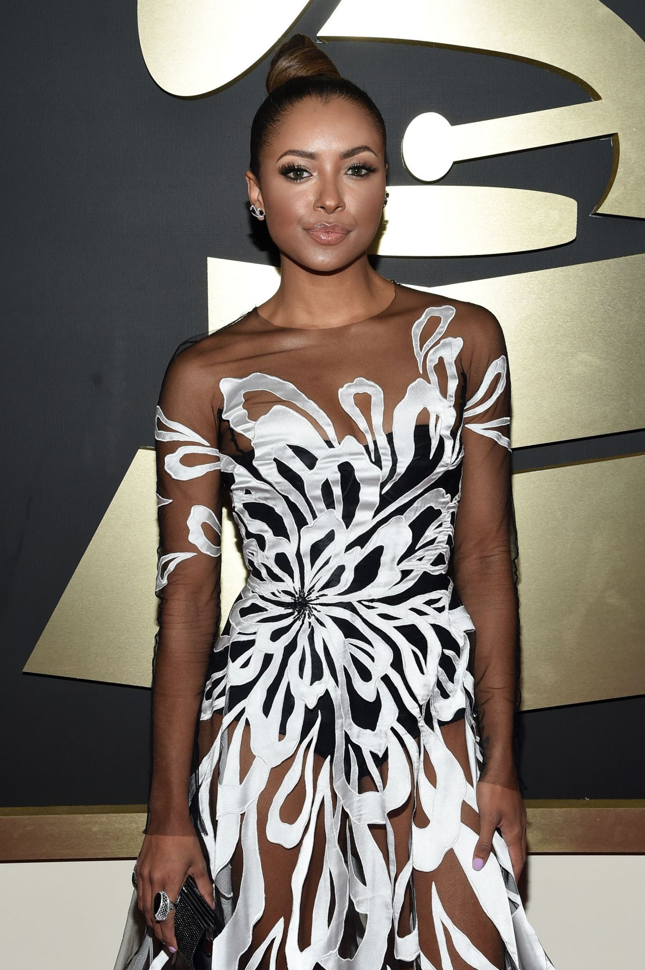 Kat Graham – 2015 Grammy Awards in Los Angeles