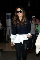 Kate Beckinsale Style - at LAX Airport, February 2015