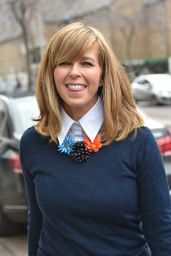 Kate Garraway Style - Outside the London Studios, February 2015