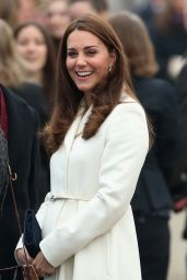 Kate Middleton - Visits the Home of Ben Ainslie Racing (BAR) in Portsmouth