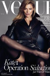 Kate Moss – Vogue Paris Magazine March 2015 Cover