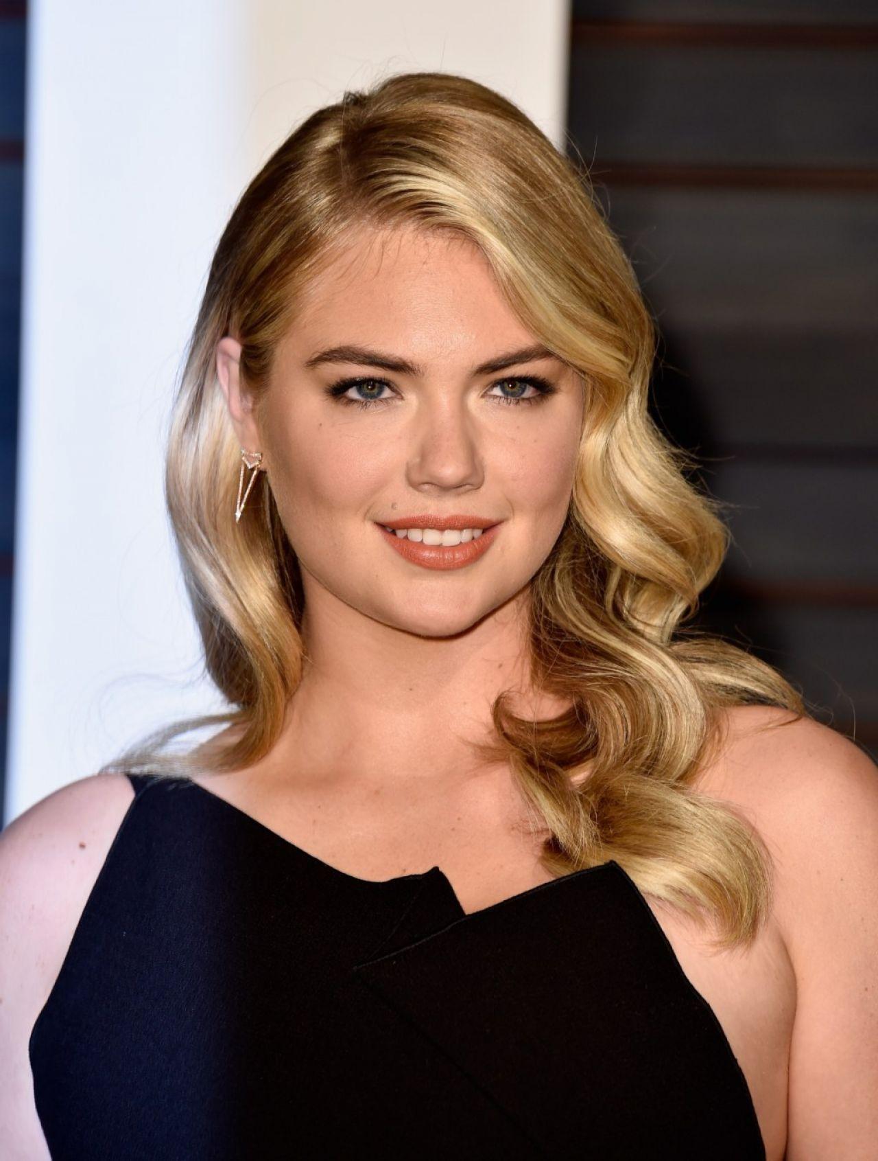 Kate Upton 2015 Vanity Fair Oscar Party In Hollywood