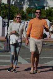 Kate Upton - Out in Miami Beach, February 2015