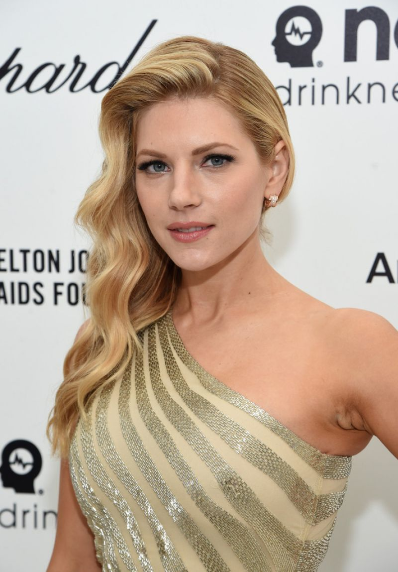 Katheryn Winnick – 2015 Elton John AIDS Foundation's Oscar Viewing Party in Hollywood