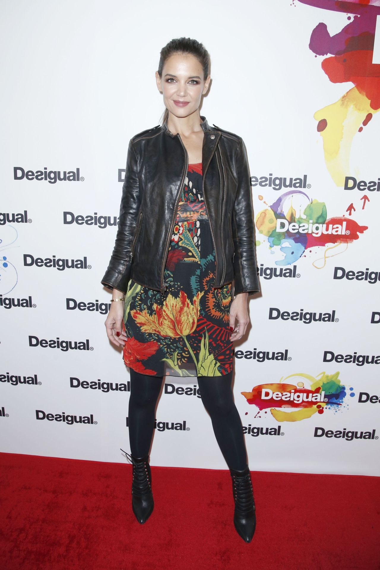 Katie Holmes - Desigual Fashion Show in New York City, Feb. 2015