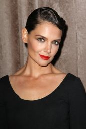 Katie Holmes - The Zac Posen Fashion Show At Vanderbilt Hall In New York City, Feb. 2015