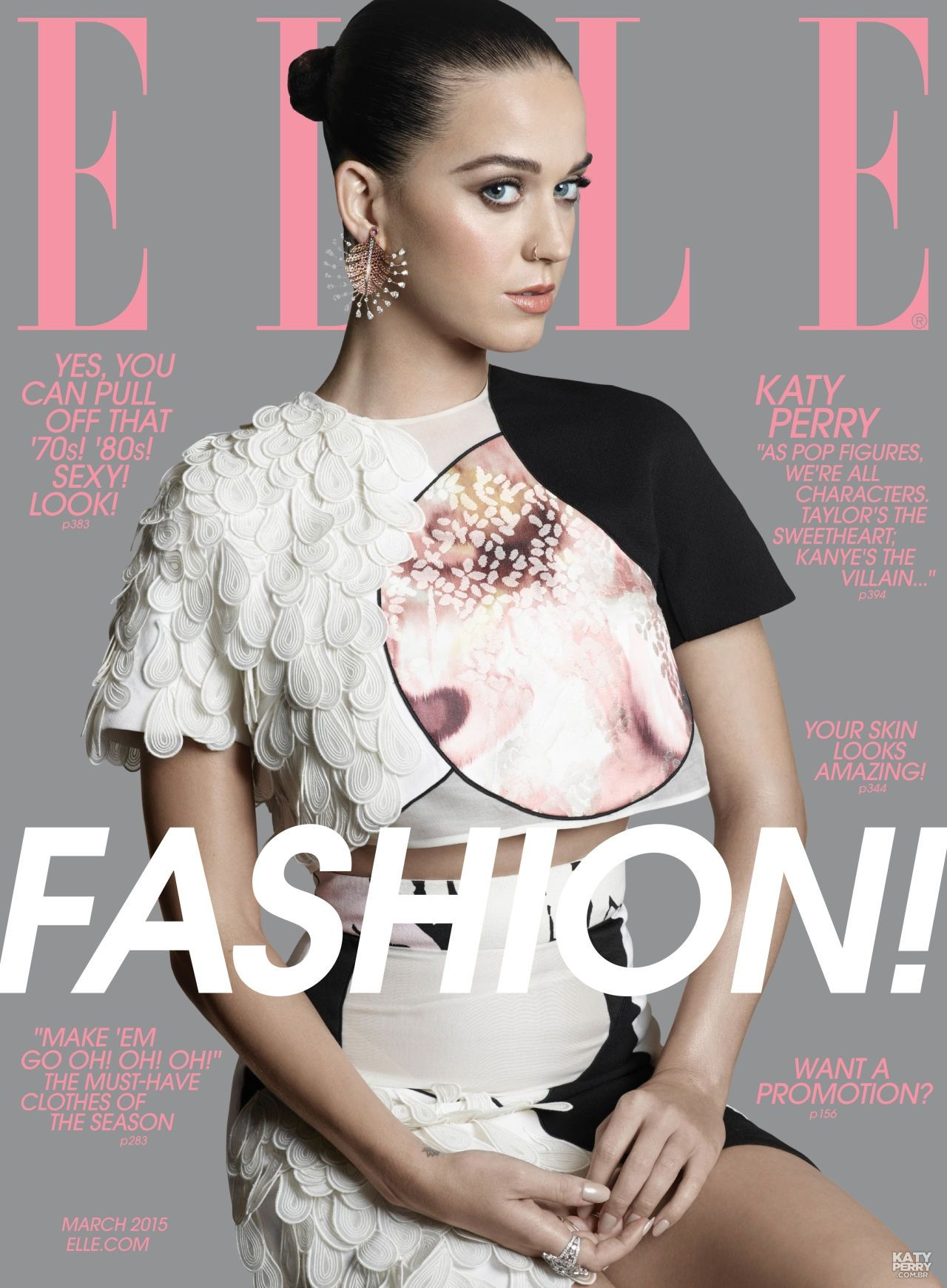 Elle Magazine France February March: Katy Perry -ELLE Magazine (US) March 2015 Cover