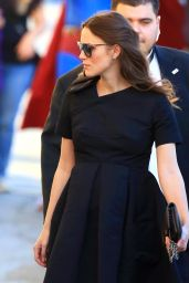 Keira Knightley Arriving to Appear on