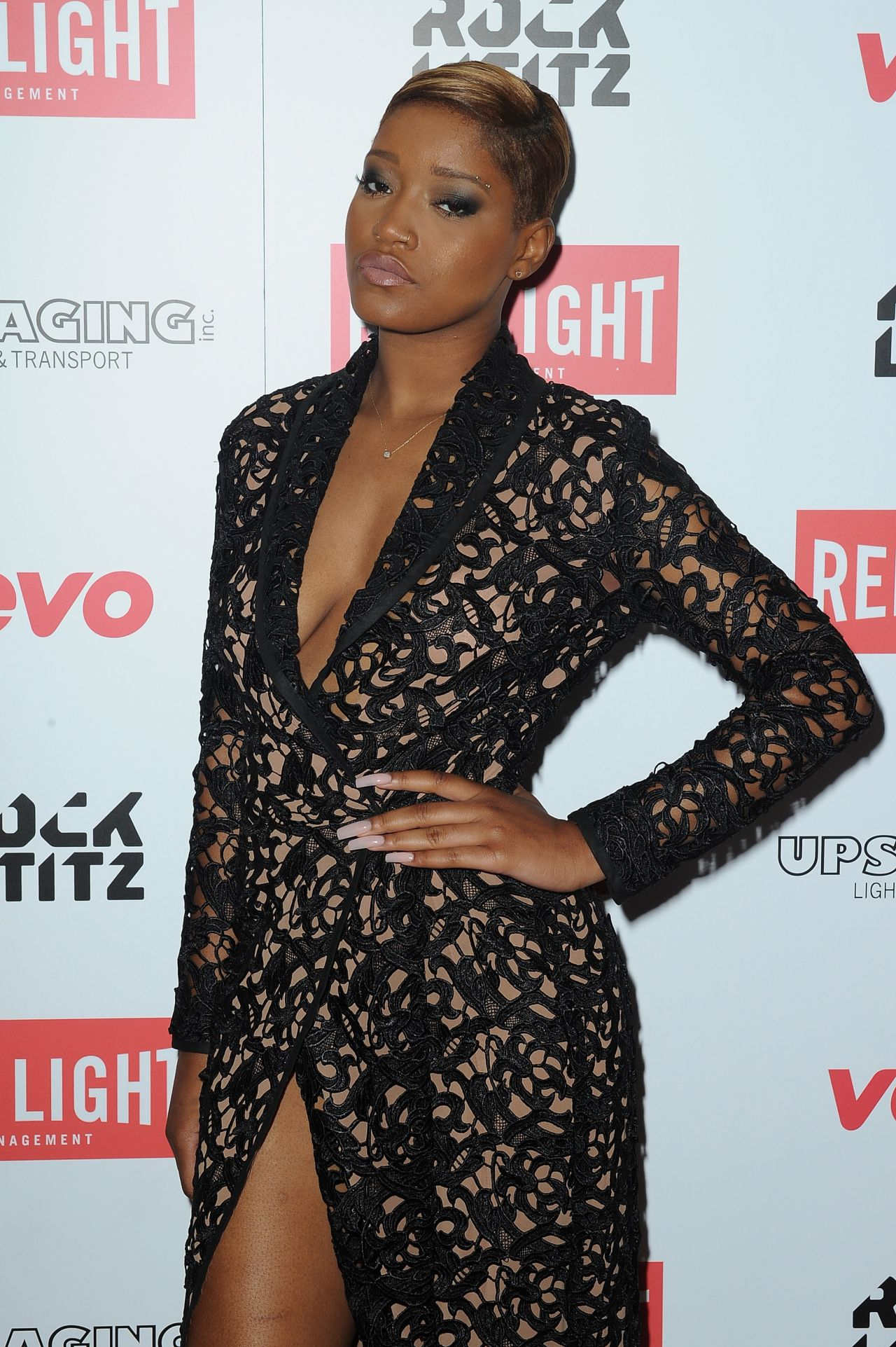 Keke Palmer - Red Light Management Grammys2015 After Party in Hollywood