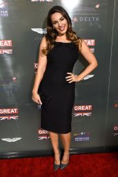 Kelly Brook - GREAT British Film Reception in West Hollywood, February 2015