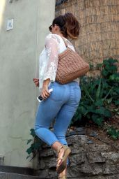 Kelly Brook in Jeans - Out in Beverly Hills, February 2015