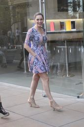 Kelly Brook Style - Out in LoS Angeles, February 2015