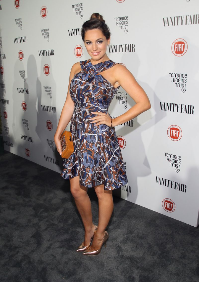 Kelly Brook – Vanity Fair and FIAT Celebration of Young Hollywood in Los Angeles, Feb. 2015