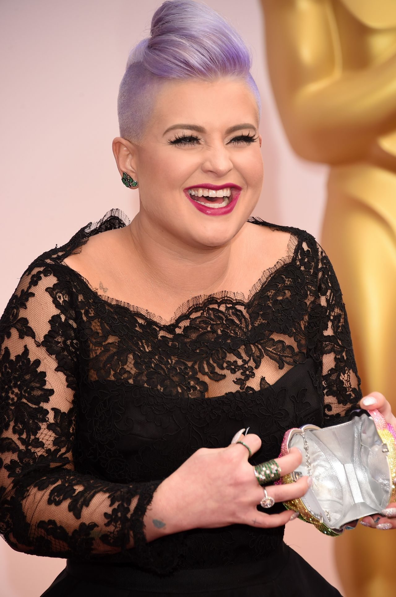 Kelly Osbourne 2015 Oscars In Hollywood