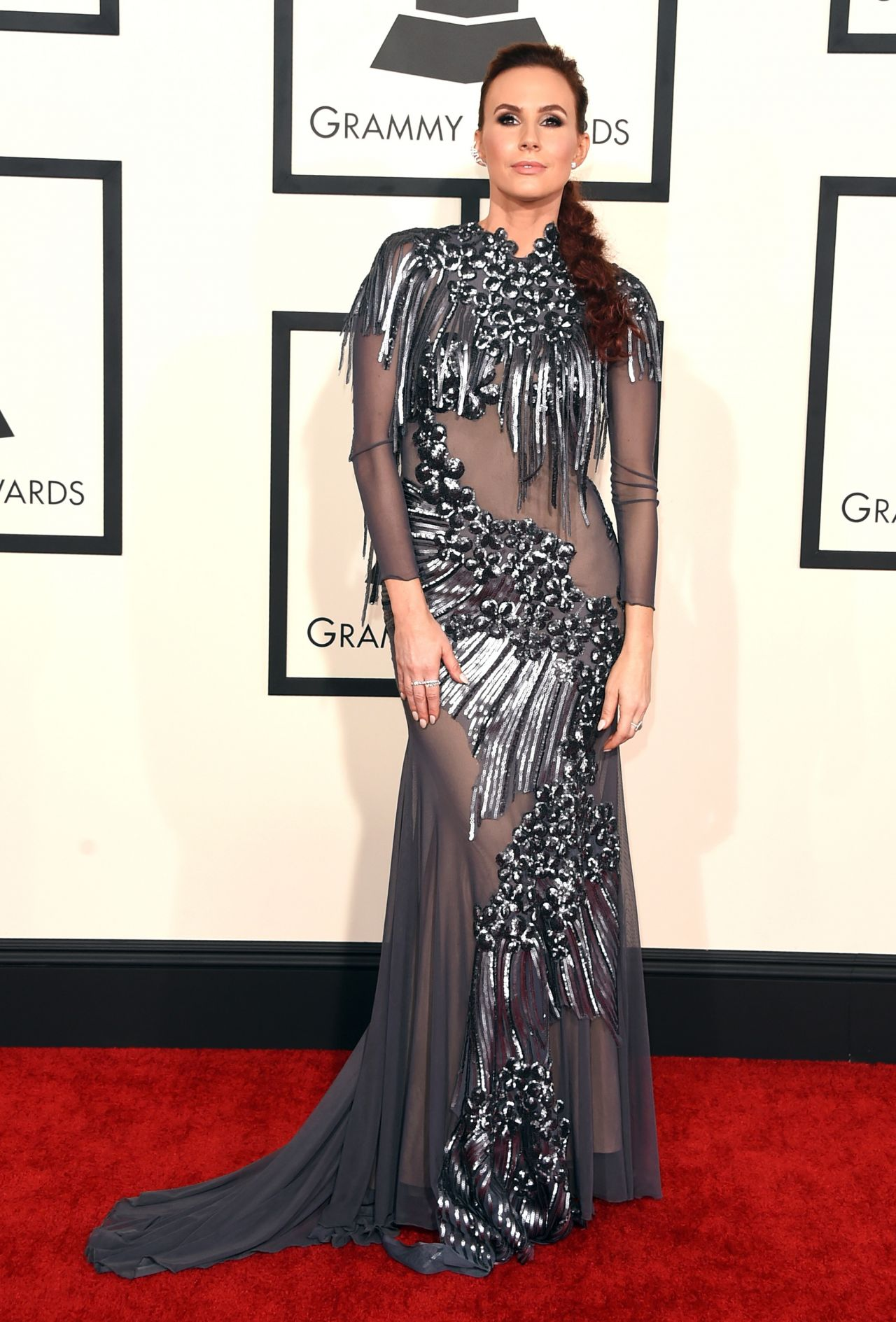 Keltie Knight – 2015 Grammy Awards in Los Angeles