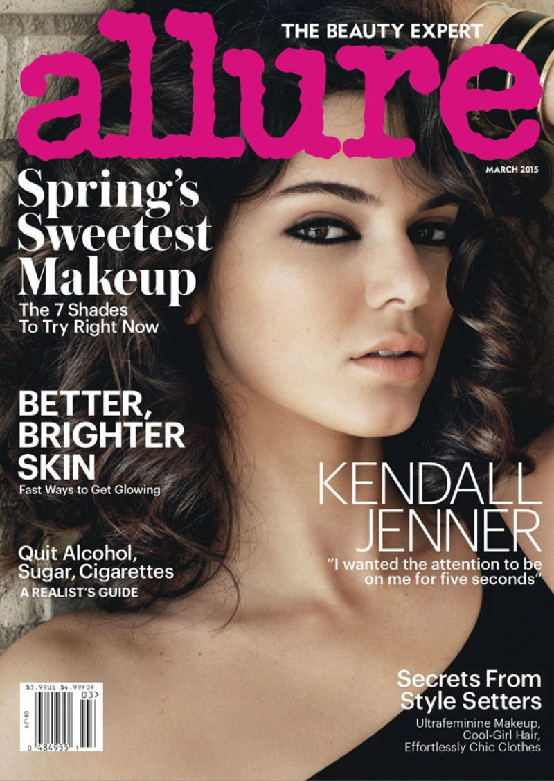 Kendall Jenner - Allure Magazine Cover - March 2015