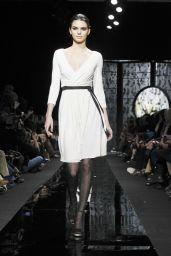 Kendall Jenner - Diane von Fürstenberg Fall 2015 Fashion Show in New York