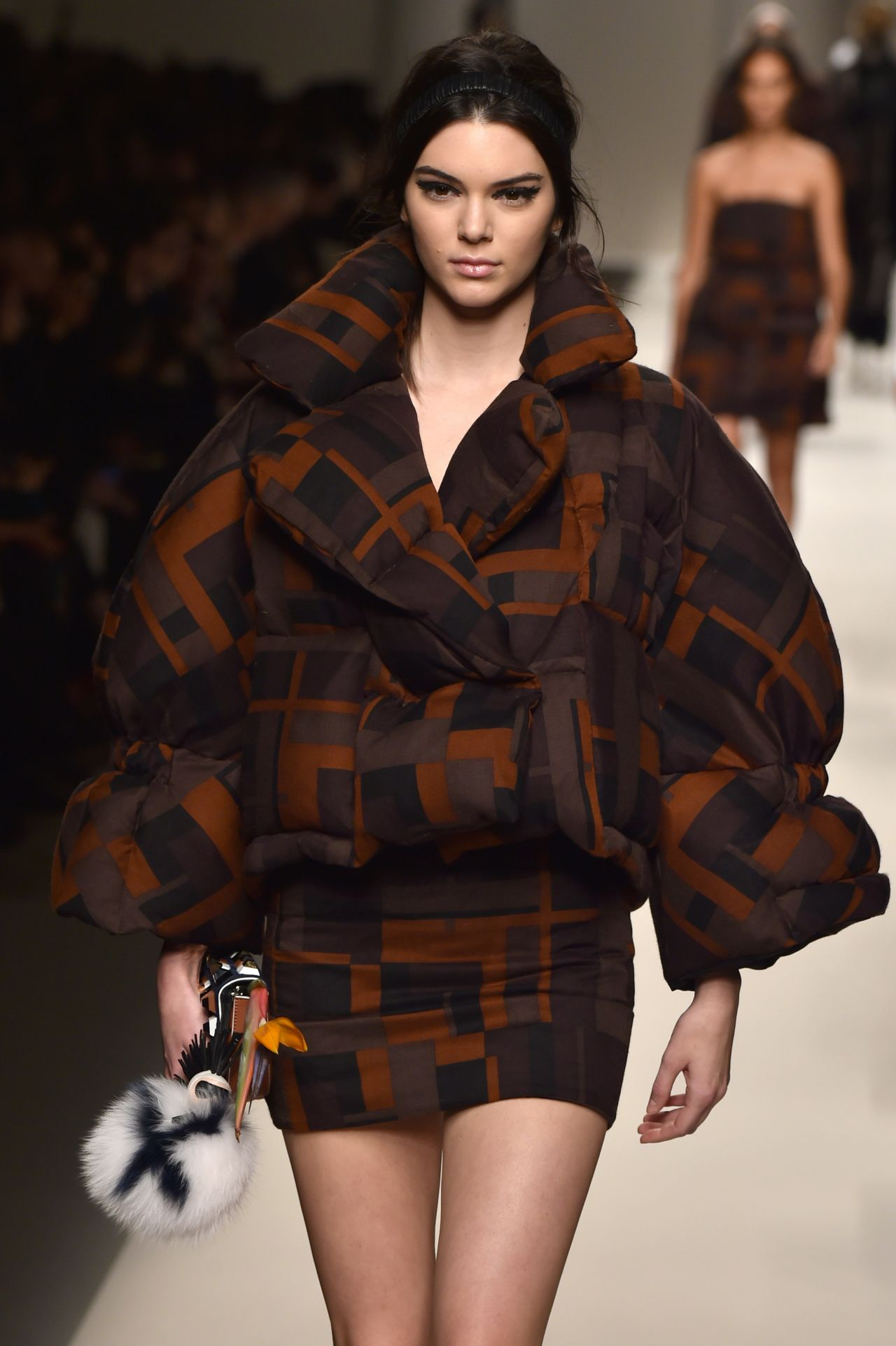 Kendall Jenner - Fendi Fashion Show in Milan, February 2015