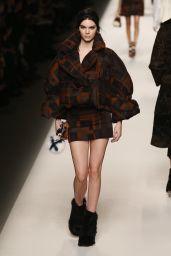 Kendall Jenner - Fendi Fashion Show in Milan, February 2015