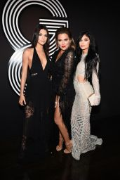 Kendall Jenner, Kylie Jenner & Khloé Kardashian - GQ and Giorgio Armani Grammy 2015 After Party in Hollywood