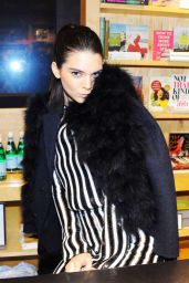 Kendall Jenner - Love Magazine Signing at Bookmarc in New York City - February 2015