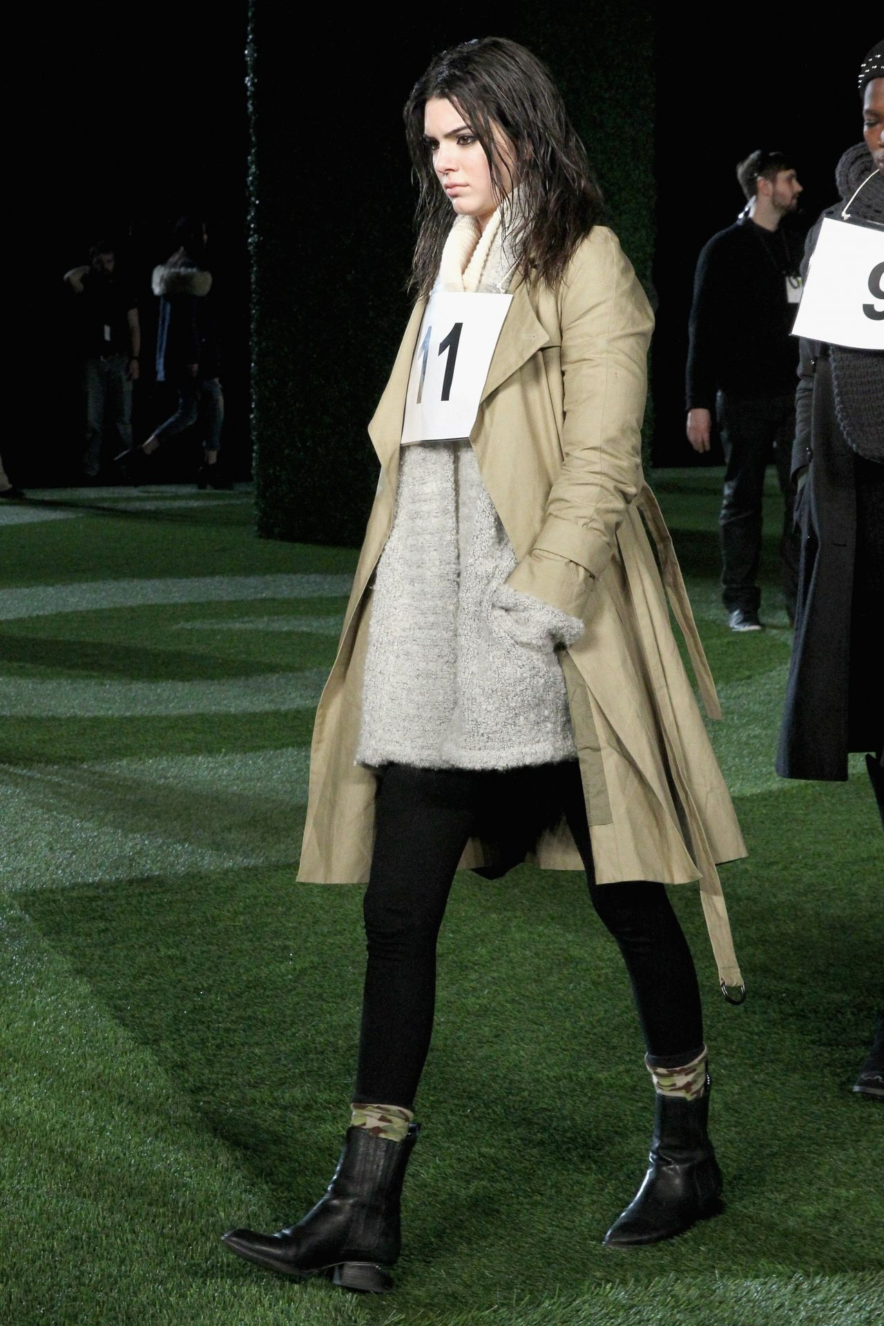 Kendall Jenner Walks The Runway And Backstage Photos, February 2015