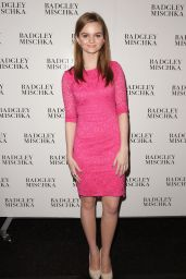 Kerris Dorsey - Badgley Mischka Fashion Show in New York City, February 2015