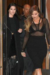 Khloe Kardashian - Leave Kanye West's Adidas Yeezy 750 Boost Launch