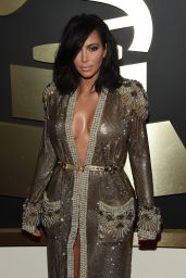 Kim Kardashian – 2015 Grammy Awards in Los Angeles
