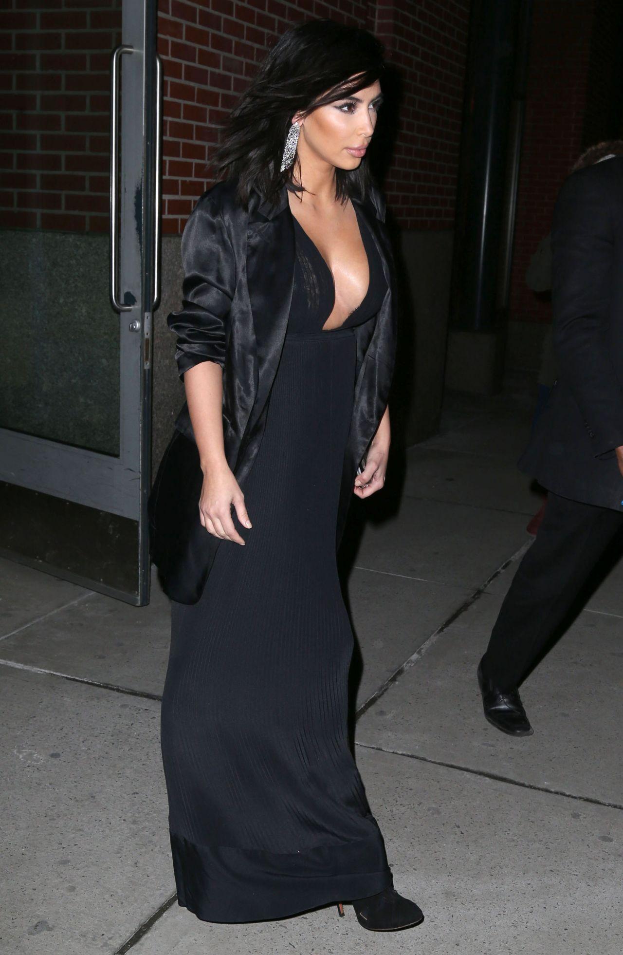 Kim Kardashian 2015 Celebrity Photos Fashion Leaving