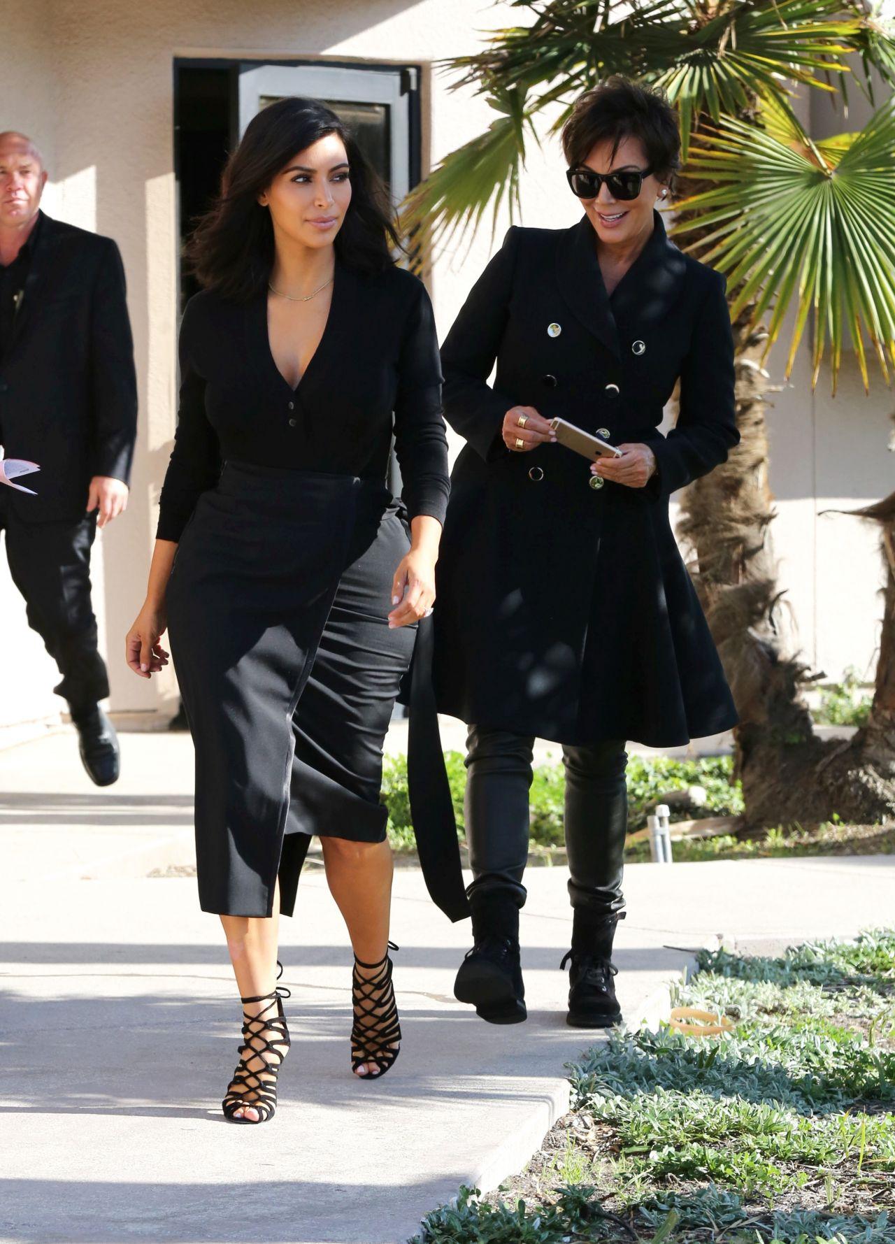 Kim Kardashian 2015 Celebrity Photos Style Filming In
