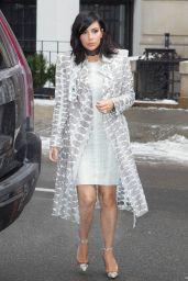 Kim Kardashian Style - Out in New York City, February 2015
