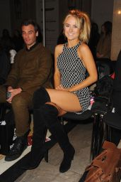 Kimberley Garner - Ashley Isham Fashion Show in London, Febraury 2015