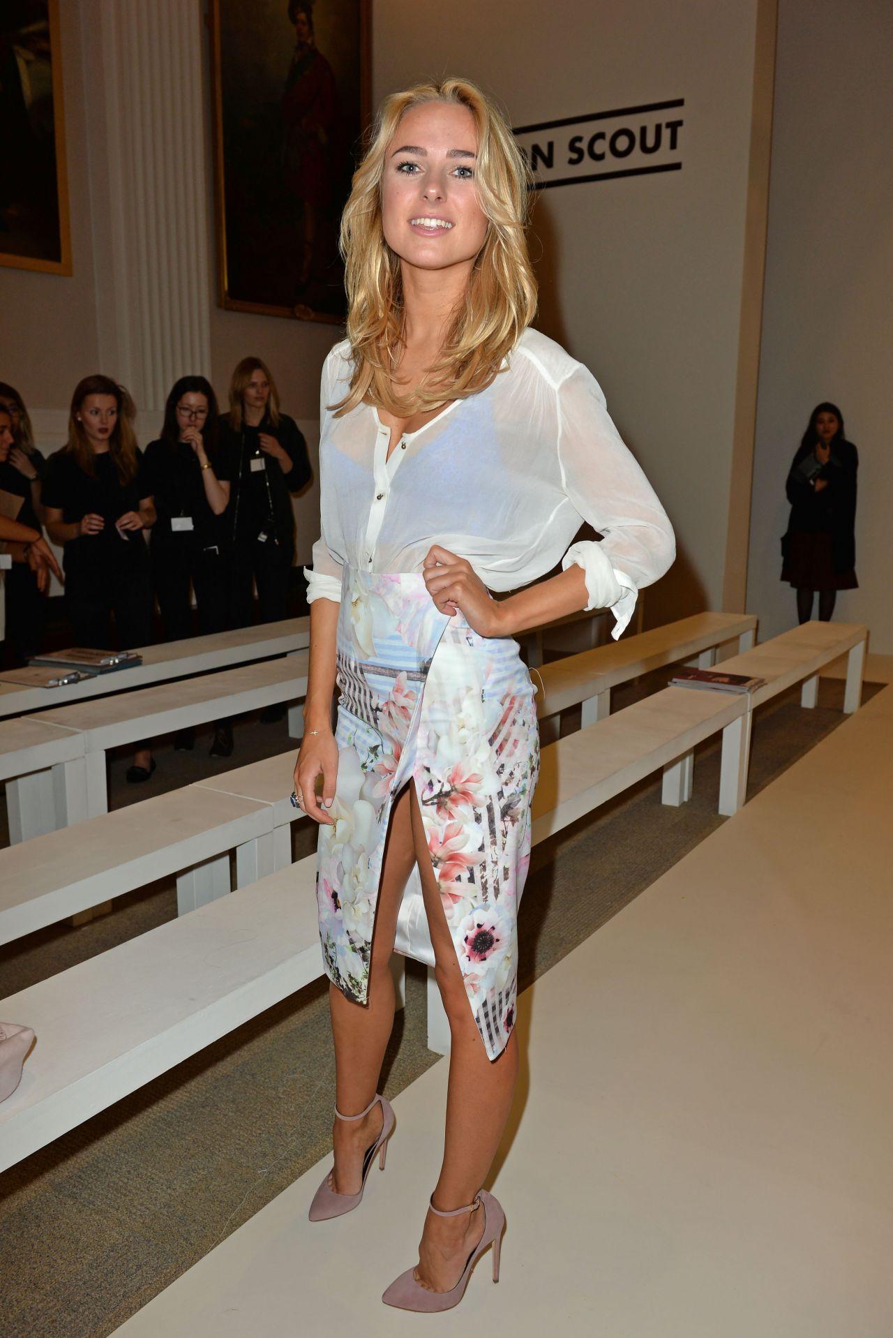 Kimberley Garner Jamie Wei Huang Fashion Show In London