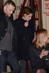Kristen Stewart Candids - Out in Paris, February 2015