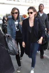 Kristen Stewart - Catching a Flight at LAX Airport, Feb. 2015