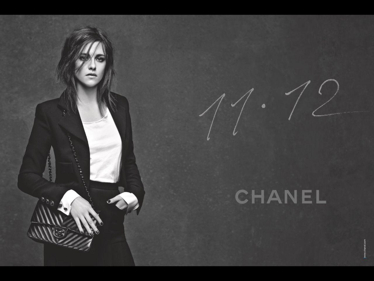 Kristen Stewart - Chanel 11.12 Campaign Photoshoot